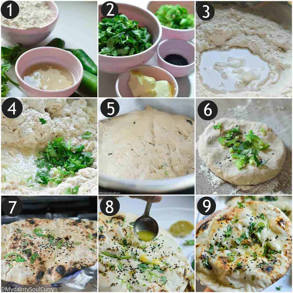 How to make Bullet naan in the instant Pot