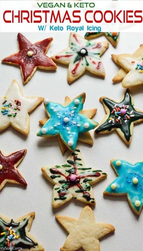 Keto Sugar cookie or Christmas cookies
