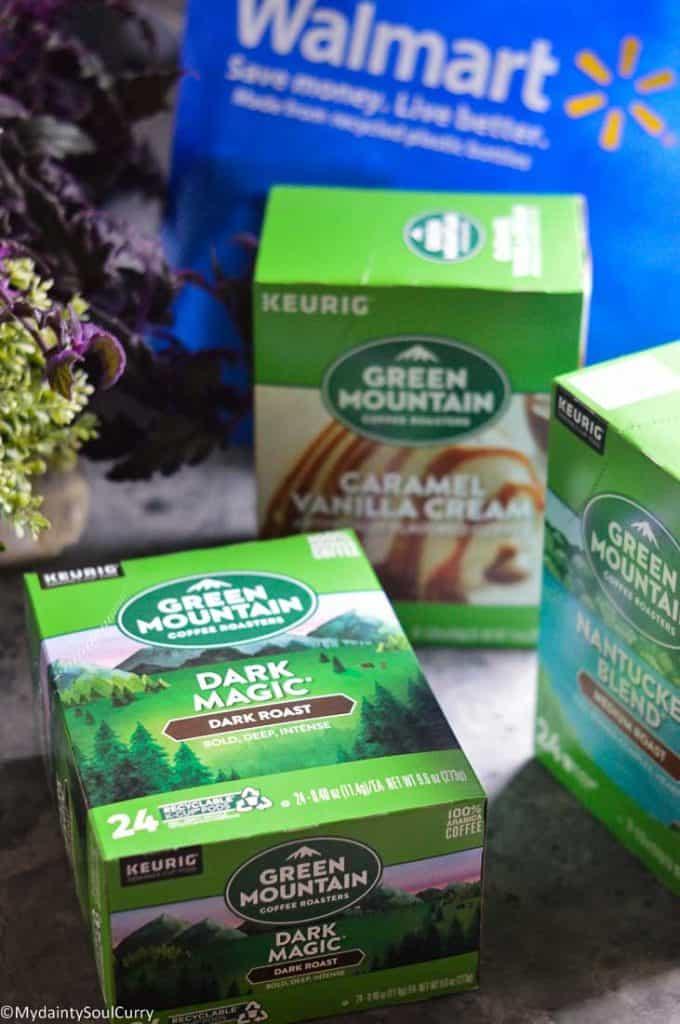Green Mountain Coffee from Walmart