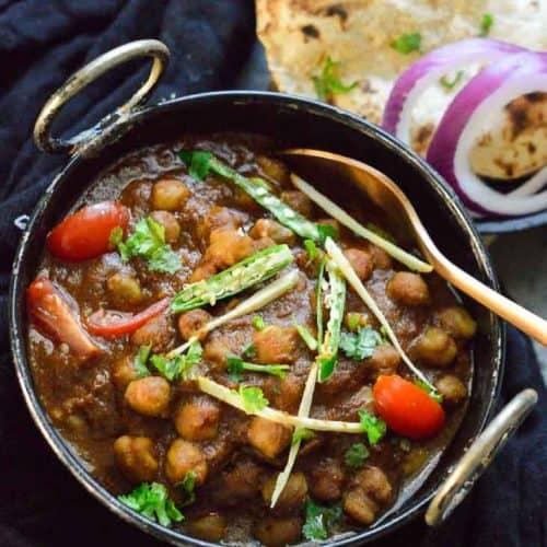 Kali chana masala recipe