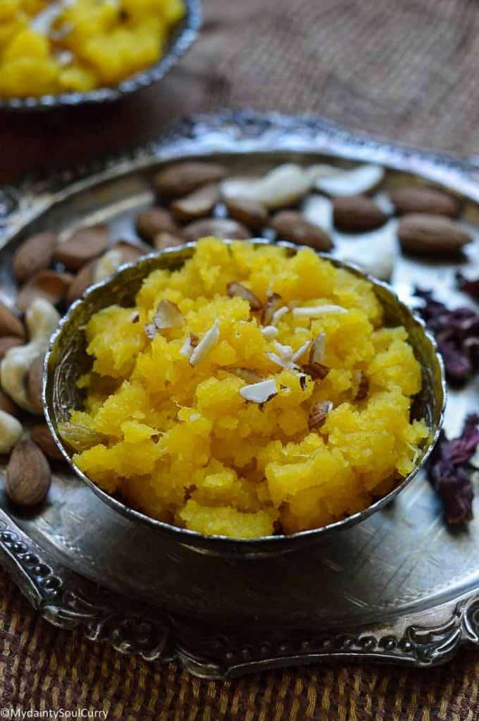 Kesari Bath in Pineapple Flavor