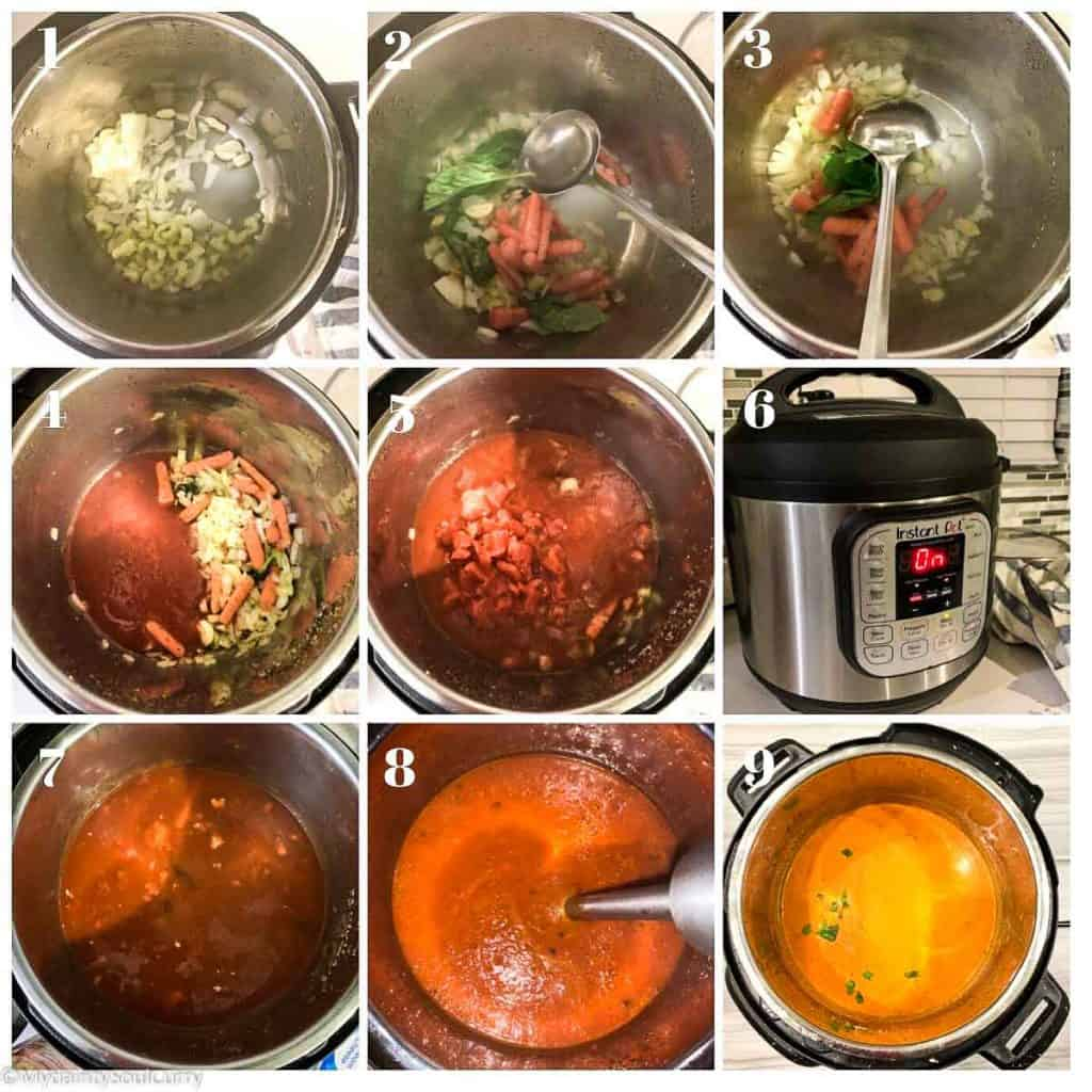 How to make instant pot tomato soup