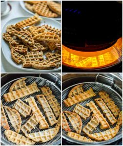 how to make waffle churros