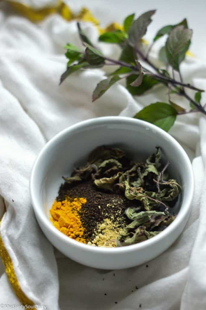 Turmeric Tulsi Black tea