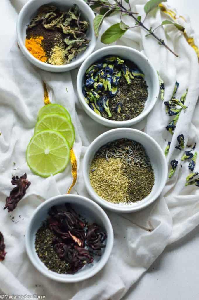 Types of immune boosting tea blends