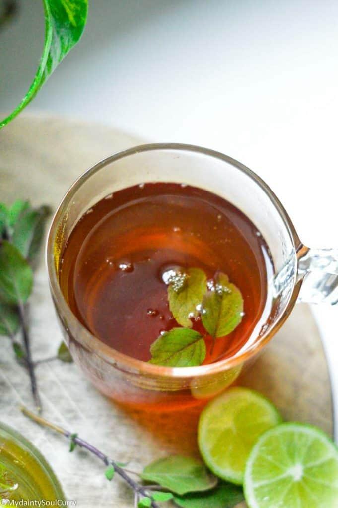Turmeric Tulsi chai