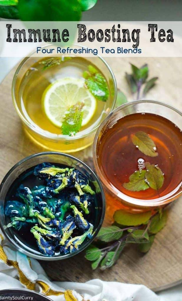 Amazing immune boosting tea