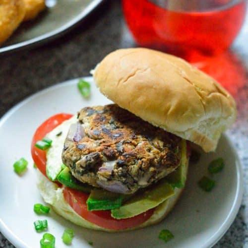 Masala Veggie Burger