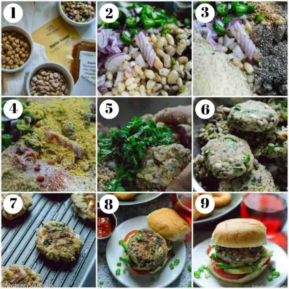 How to make the masala burger
