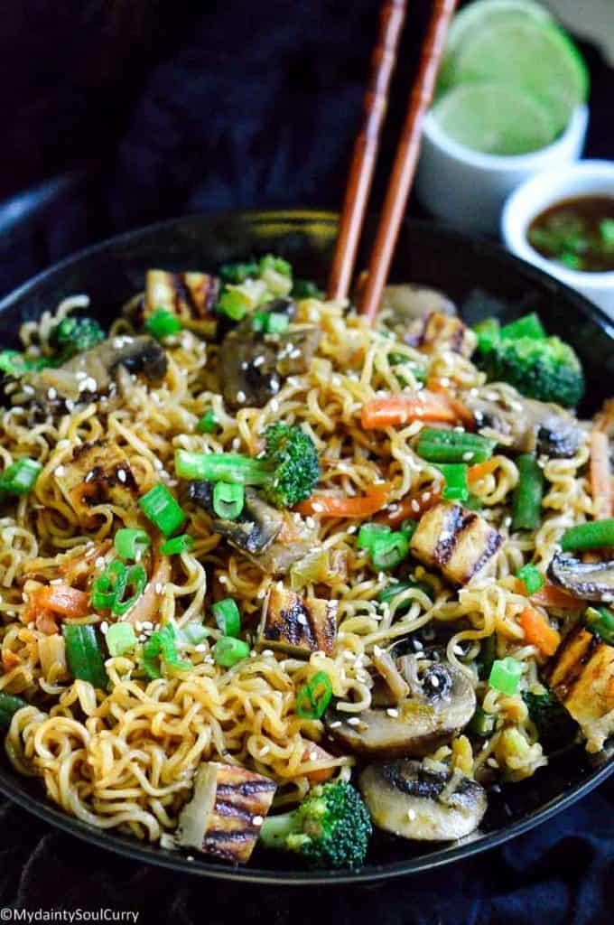 tasty instant pot hakka noodles