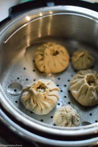 steaming dumplings in instant pot