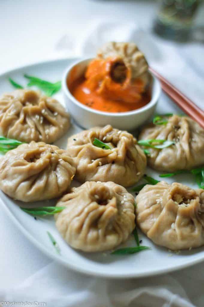 Instant pot steamed dumplings