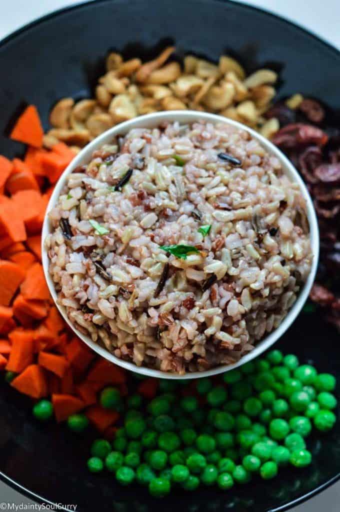 Instant pot wild rice pilaf ingredients