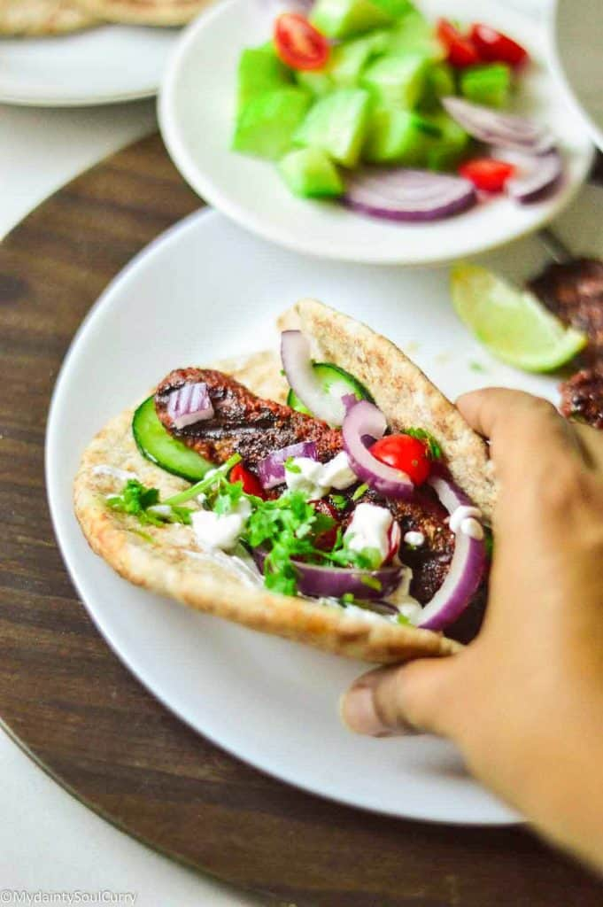 Tasty and delicious Ground gyro