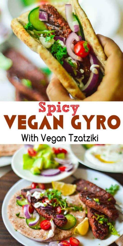 Spicy gyro rolls