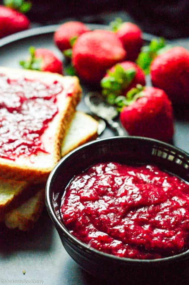 no sugar no pectin instant pot strawberry jam