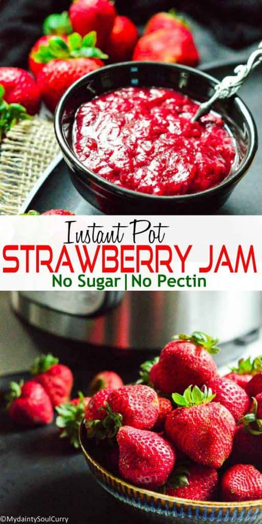 How to make strawberry jam in the instant pot