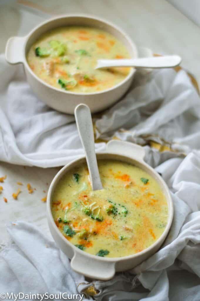 Ip Broccoli soup