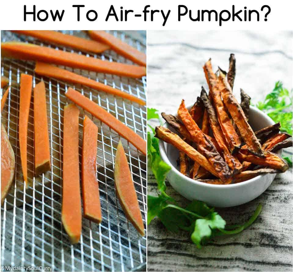 How to air-fry pumpkin