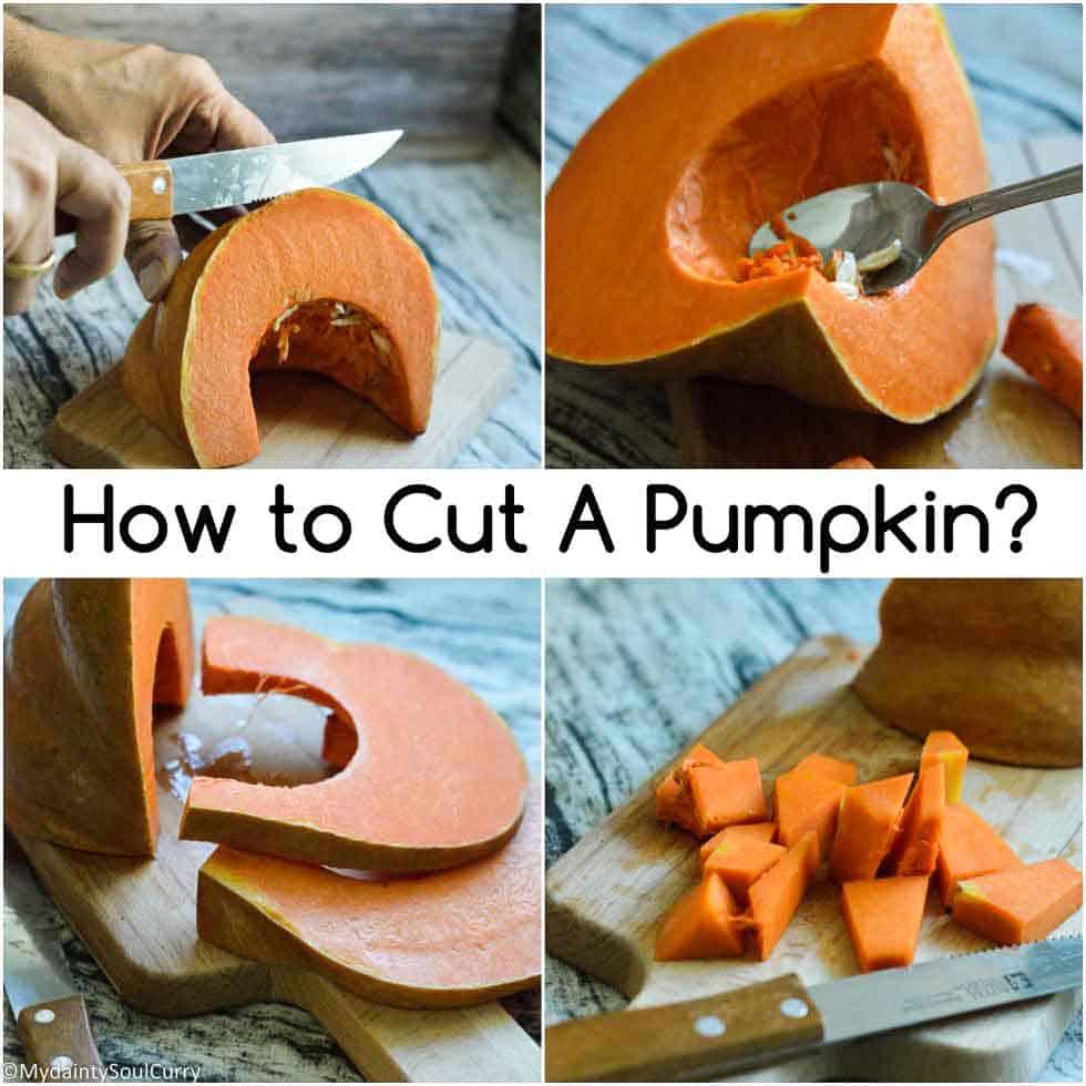 How to cut a pumpkin?