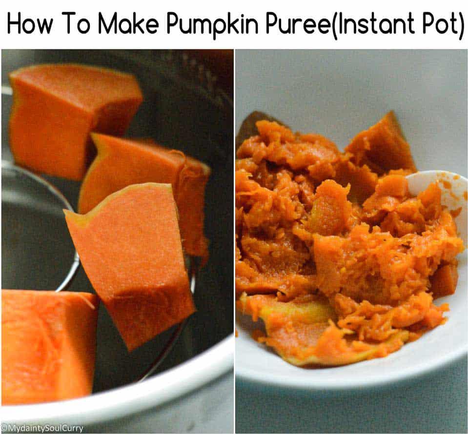 How to pressure cook pumpkin