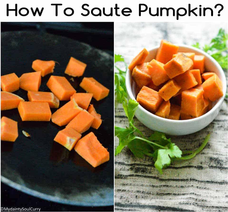 How to saute pumpkin